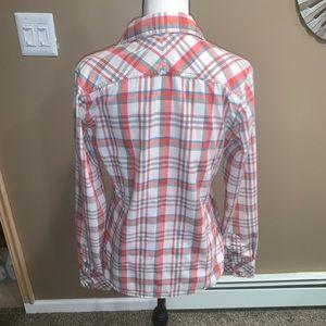 Women's SZ S North Face button up shirt